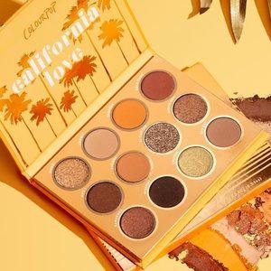2/$20 Colourpop California Love Eyeshadow Palette